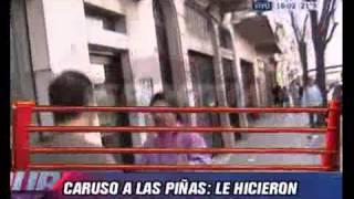 Duro de Domar - Caruso Lombardi a las trompadas con Fabian Garcia 14-05-12