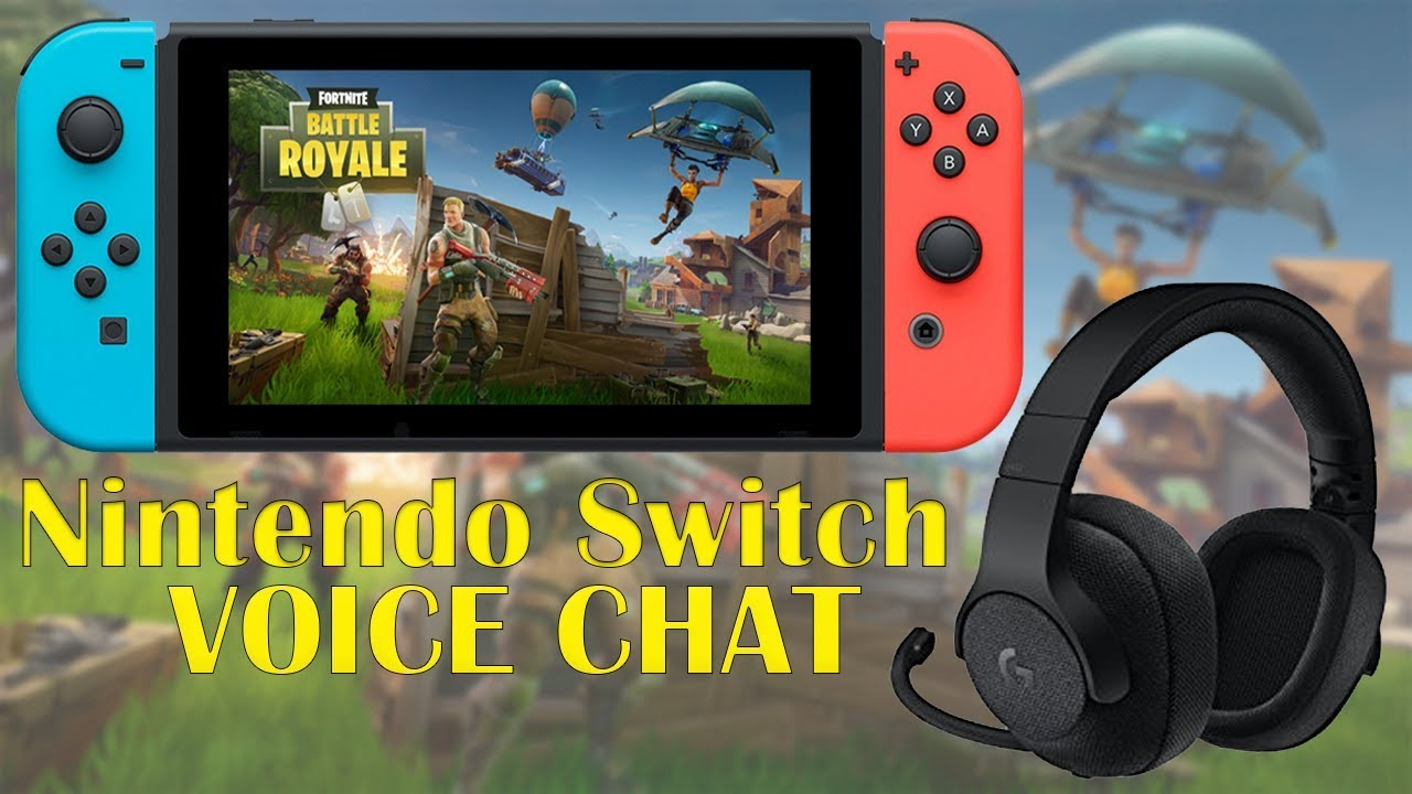 Fortnite on Switch | How to Voice Chat - YouTube