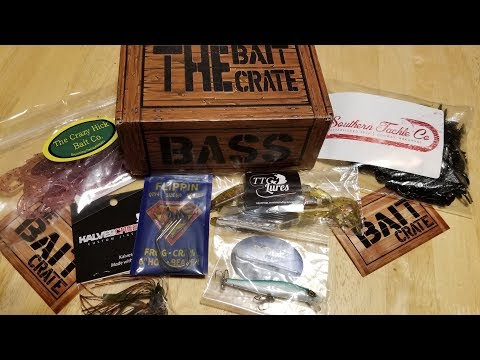 The BaitCrate Unboxing + GIVEAWAY(closed)!!