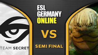 SECRET vs MUDGOLEMS - AMAZING SEMI FINAL - ESL ONE Germany 2020 Highlights Dota 2