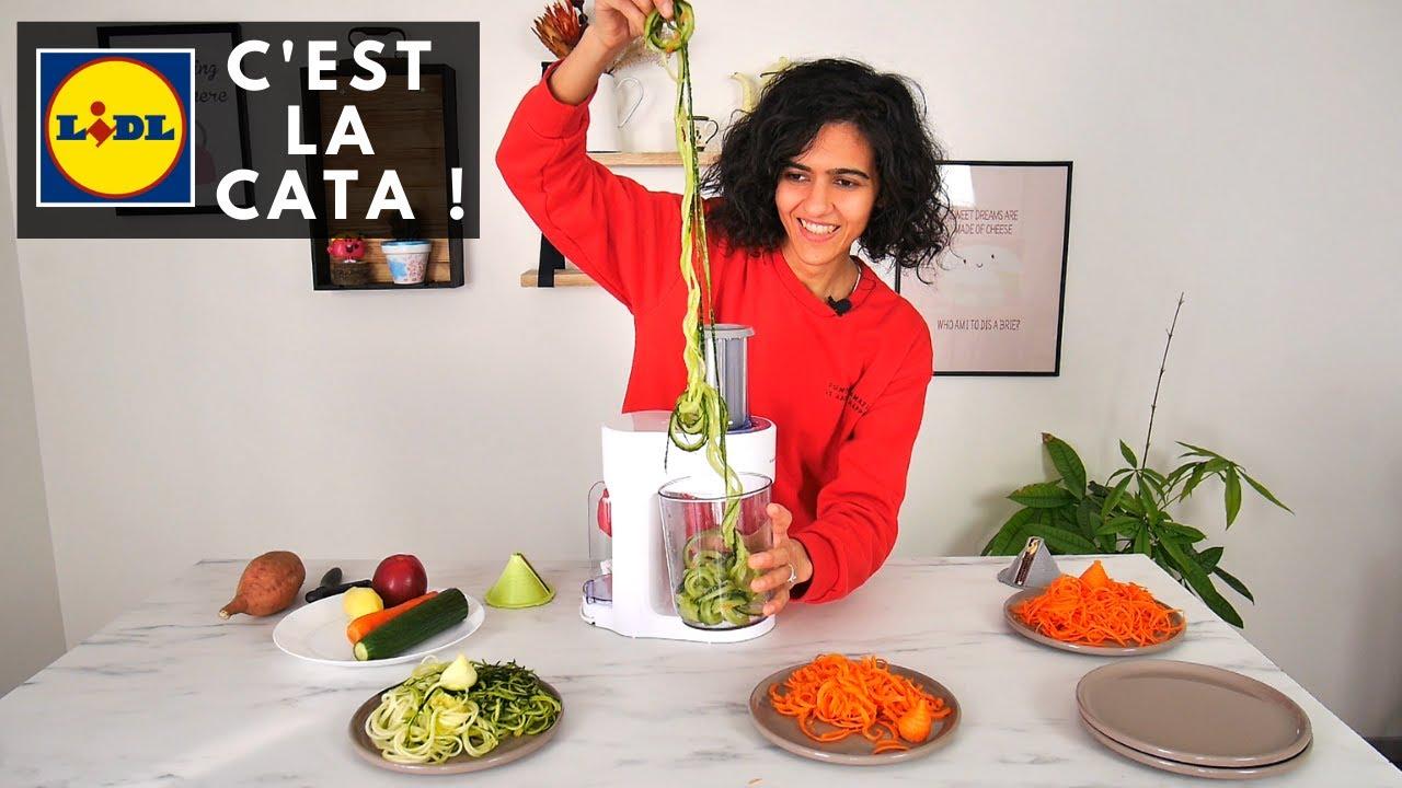 je teste une rape a legumes electrique de chez lidl le monsieur cuisine low cost