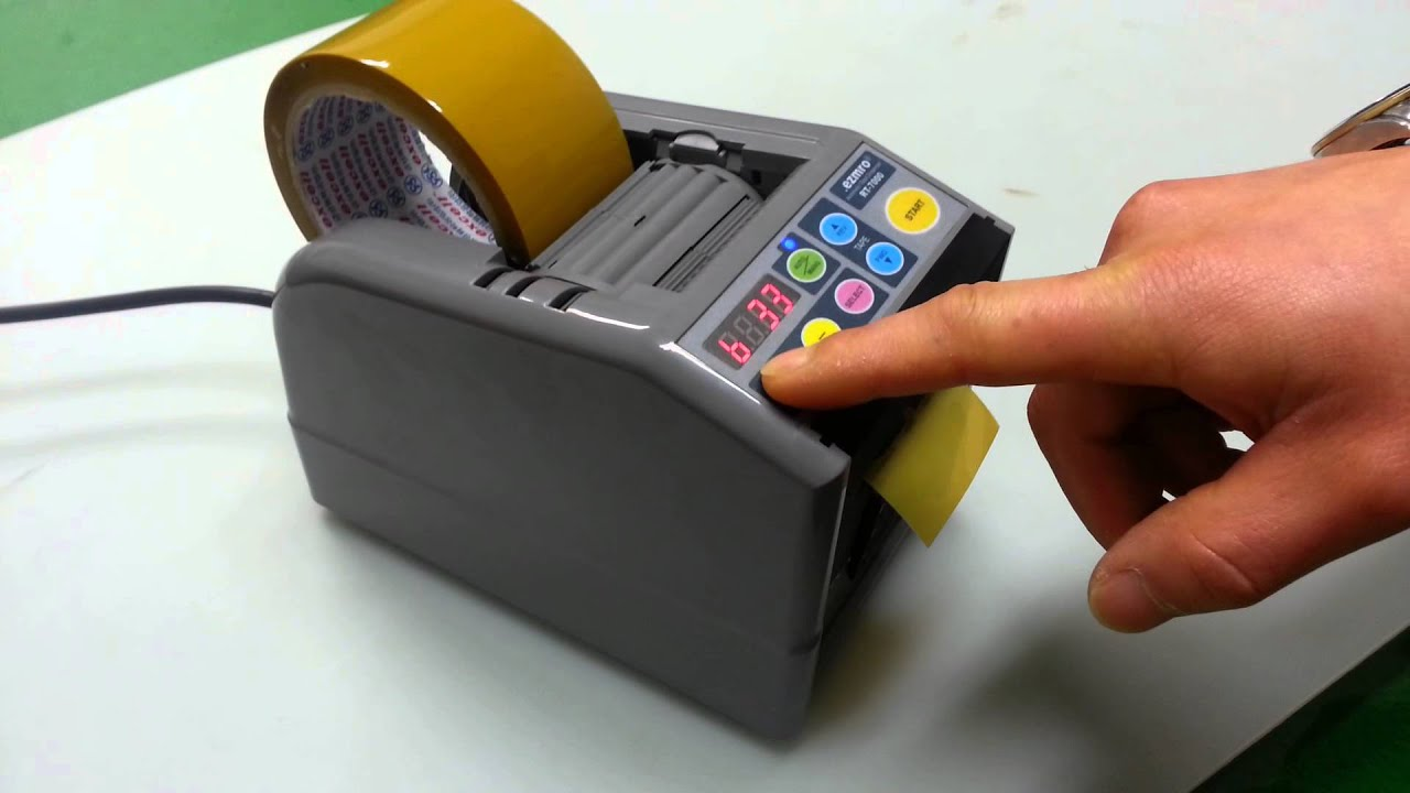Automatic Tape Applicator ~ Automatic tape dispenser rt youtube