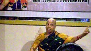Krishnaveni, a  Mysore Style Dancer performs at Bhushans