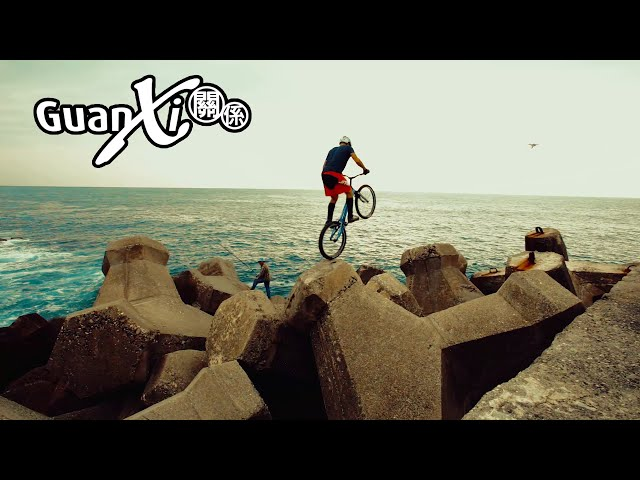 Dangerous Trial Bike Harbor Stunt by Vincent Hermance  (WE MADE THE NEWS!)