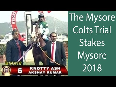 Knotty Ash with Akshay Kumar up wins The Mysore Colts Trial Stakes 2018