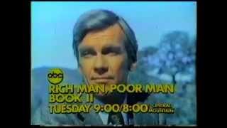 ABC Rich Man Poor Man Book II Promo 1976