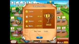 Farm frenzy 2 only GOLD (level 77) Hat street 3 Веселая ферма 2 Шляпная 3 (уровень 77) Золото