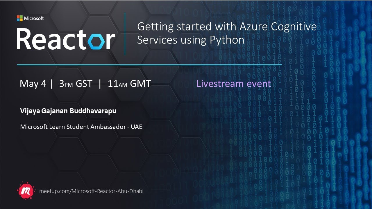 Getting started with Azure Cognitive Services using Python