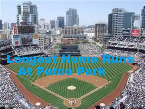 Longest Home Runs at Petco Park