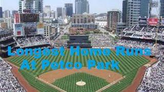 Longest Home Runs at Petco Park