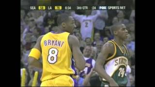 Kobe bryant's 12 three-pointers in a single game