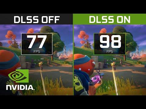 NVIDIA DLSS | GeForce RTX 3050 Ti Laptop Gameplay