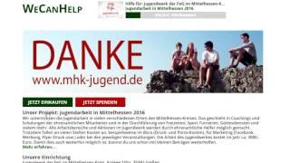 Showreel - Werbeclip WeCanHelp Jugendwerk 2016