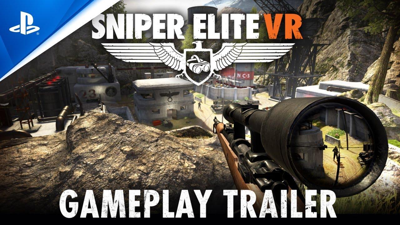Sniper Elite VR gameplay trailer - PlayStation VR