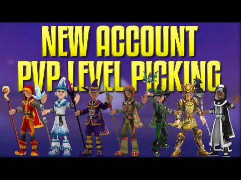 Wizard101: [New Account] PvP Level Picking + Open Chat