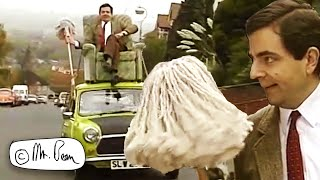 Land, Air and Sea | Clip Compilation | Mr Bean Official