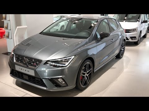seat ibiza fr 2017 in detail review walkaround interior. Black Bedroom Furniture Sets. Home Design Ideas