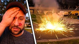 FIREWORKS GONE TERRIBLY WRONG