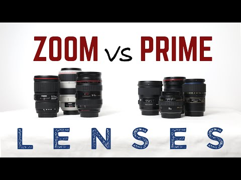 Zoom vs prime lenses - which to choose?