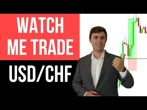 Live Forex Trading USD/CHF: Watch the Trade Start to Finish! 💰📈