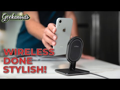 Twelve South HiRise Wireless Charging Stand Review