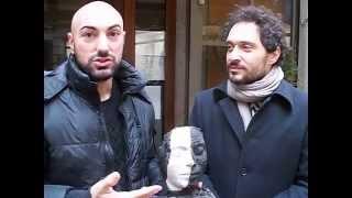 Claudio Santamaria attore.