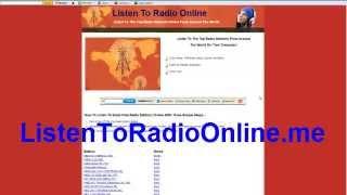 Listen To Radio Online
