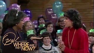 The Surprise Birthday Party That Made Oprah Cry | Where Are They Now | Oprah Winfrey Network