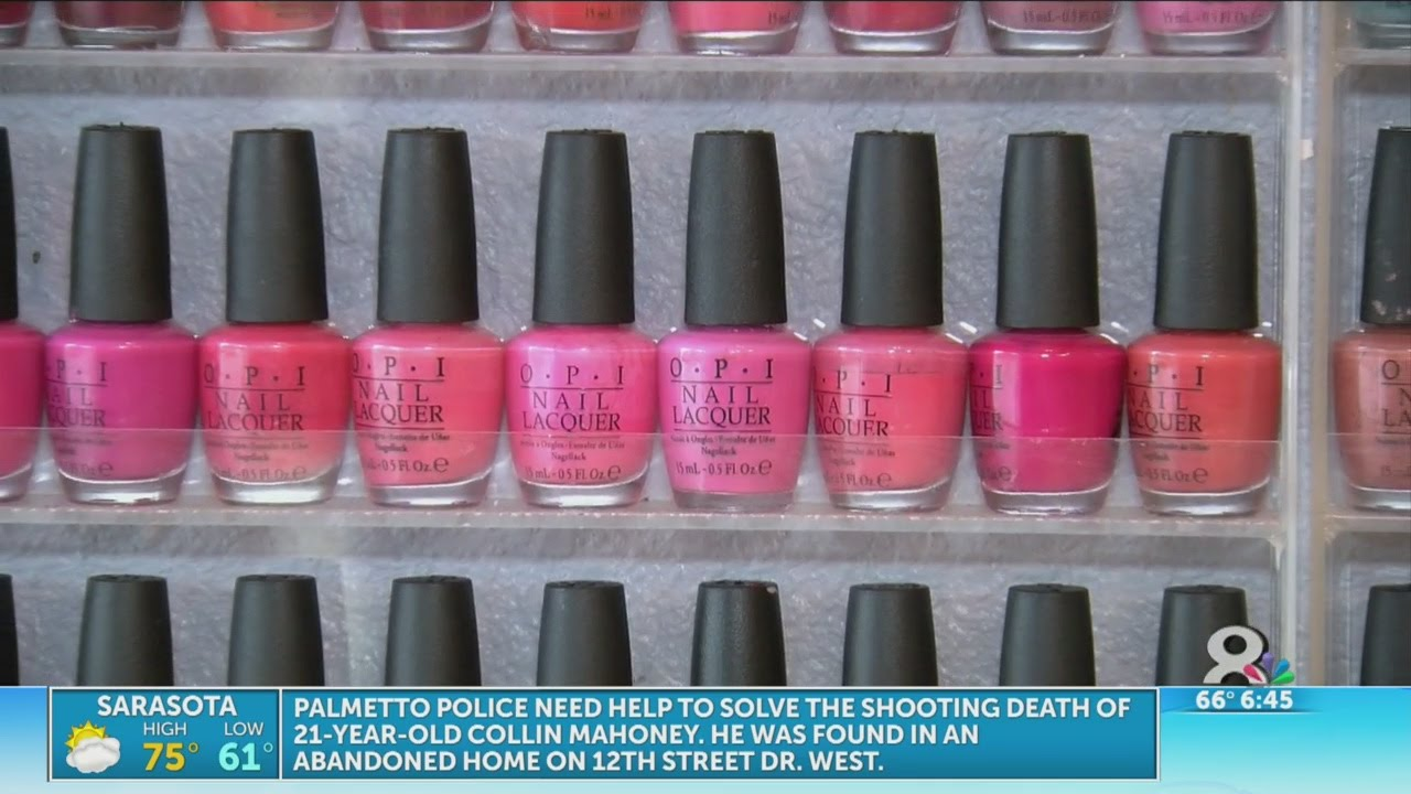 Study finds nail polish contains harmful ingredients - YouTube
