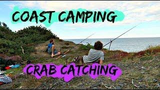 4 day Wild Camp | Catching Velvet Crabs | Drinking Booze