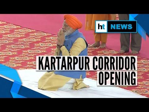 Kartarpur corridor opening- PM Modi flags off first batch of pilgrims