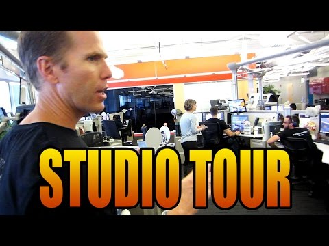 Studio Tour of Sledgehammer Games! (Makers of Advanced Warfare)