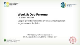 Week 5: Deb Perrone, UC Santa Barbara