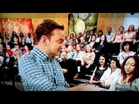 2011-10-17 Ross Fraser on The Chew for Feeding America