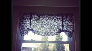 Sewing With Sara: DIY Window Valance