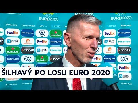 Trenér Jaroslav Šilhavý po losu EURO 2020
