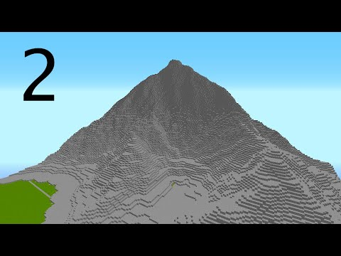 Minecraft Mountain Project | Part 2