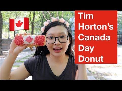 Tim Hortons Canada Day Donut