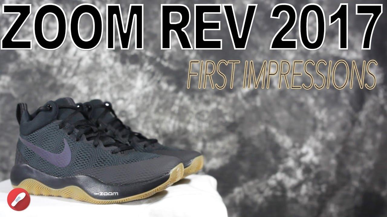 db144b4b3014b Nike Zoom Rev 2017 First Impressions! - YouTube