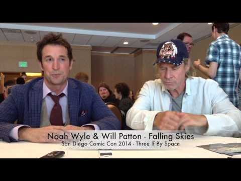Comic Con 2014 Falling Skies Interview - Noah Wyle & Will Patton Part 2