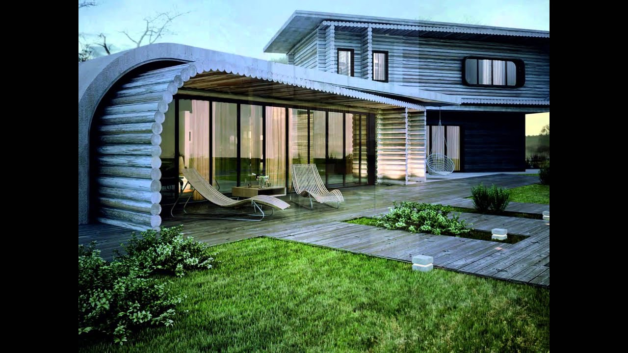 Small House Architecture Design With Modern