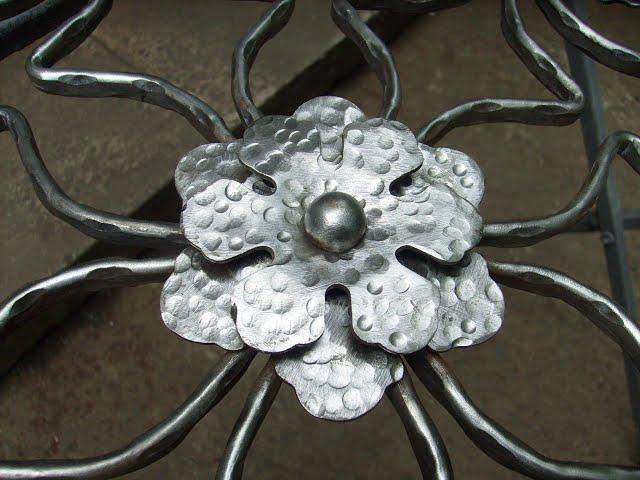 Как сделать цветок из металла без нагрева