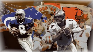 CFL 1994 Grey Cup Baltimore Stallions vs BC Lions