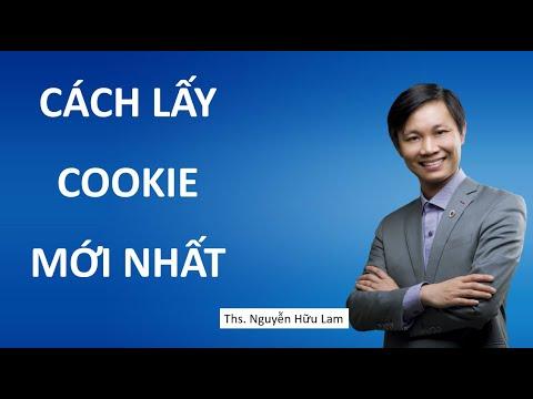 Cách lấy Cookie mới nhất để đăng nhập phần mềm Simple UID, Simple Facebook