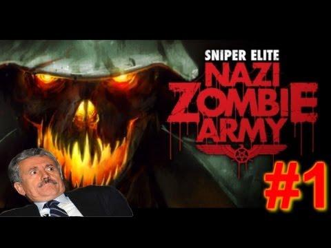 KSIOlajidebt Plays | Sniper Elite: Nazi Zombie Army #1 |