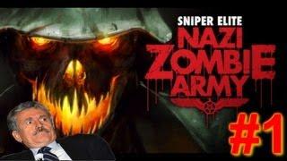 KSIOlajidebt Plays | Sniper Elite: Nazi Zombie Army #1