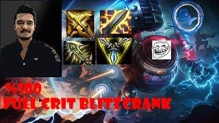LoL - PBY Team - %100 Crit Blitzcrank - Tek E ?