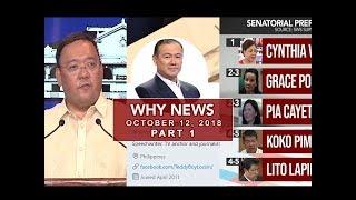 UNTV: Why News (October 12, 2018) Part 1