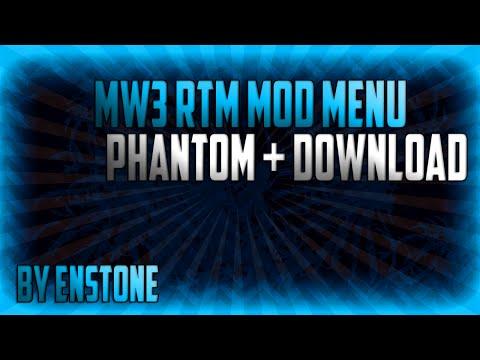 MW3 [1.24] - Phantom RTM Mod Menu by Enstone