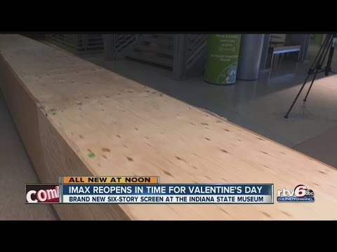 IMAX opens in time for Valentine